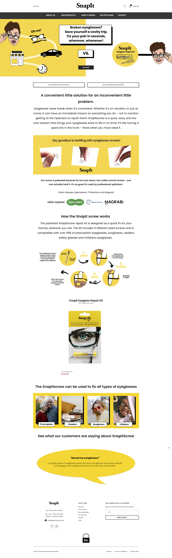 Snapit Screw the Eyeglasses Repair Kit   Best Eyeglass Repair Kit – Snapitscrew